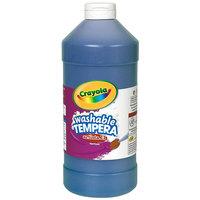 Crayola 543115042 Artista II 16 oz. Blue Washable Tempera Paint