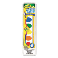 Crayola 530525 Assorted 8 Color Washable Watercolor Paint Set