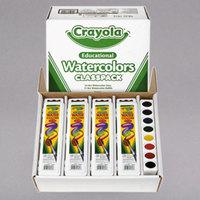 Crayola 538101 Classpack Assorted 8 Color Watercolor Paint Set - 36/Box
