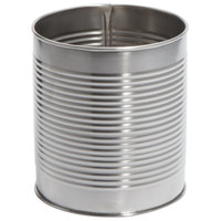 American Metalcraft CSM2 64 oz. Silver Stainless Steel Soup Can / Riser