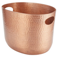 American Metalcraft ATHC9 Copper Hammered Aluminum Beverage Tub - 12 1/4 inch x 9 inch x 8 3/4 inch