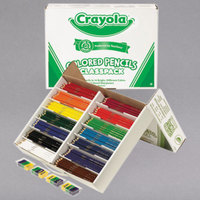Crayola 688462 Classpack 462 Assorted Colored Pencils