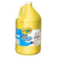 Crayola 542128034 1 Gallon Yellow Washable Paint