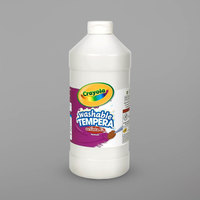 Crayola 543115053 Artista II 16 oz. White Washable Tempera Paint