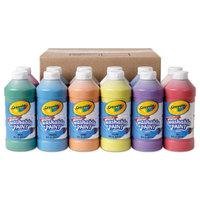 Crayola 549718 12 Assorted 16 oz. Washable Paint