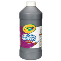 Crayola 543115051 Artista II 16 oz. Black Washable Tempera Paint