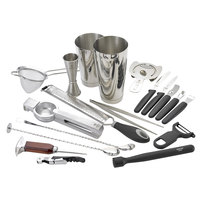Barfly M37102 Deluxe 19-Piece Stainless Steel Cocktail Kit