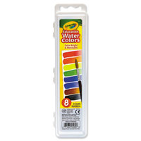 Crayola 530080 Assorted 8 Color Watercolor Paint Set