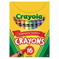 Crayola 520016 Classic Assorted 16 Color Crayon Tuck Box