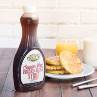 Golden Barrel Sugar Free Pancake and Waffle Syrup 24 oz. Bottle - 12/Case