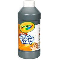 Crayola 551316051 16 oz. Black Washable Finger Paint