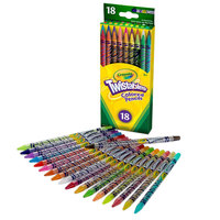 Crayola 687418 Twistables 18 Assorted Colored Pencils