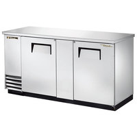 True TBB-3-S 69 inch Stainless Steel Back Bar Refrigerator