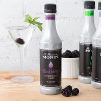 Monin 375 mL Blackberry Concentrated Flavor