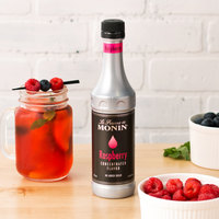 Monin 375 mL Raspberry Concentrated Flavor