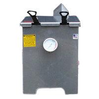 R & V Works FF2-R-AL Aluminum 4 Gallon Liquid Propane Outdoor Cajun Deep Fryer - 90,000 BTU