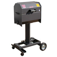 R & V Works SCGJrCW Cajun Smokin' Junior Charcoal Grill with Wheeled Stand