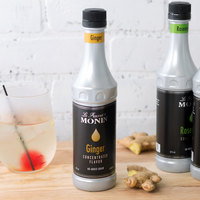Monin 375 mL Ginger Concentrated Flavor