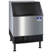 Manitowoc UDF0240A NEO 26 inch Air Cooled Undercounter Dice Cube Ice Machine with 90 lb. Bin - 115V, 220 lb.