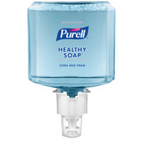 Purell® 5075-02 Healthcare Healthy Soap™ ES4 1200 mL Ultra Mild Foam Hand Soap - 2/Case