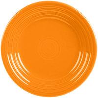 Homer Laughlin 465325 Fiesta Tangerine 9 inch Luncheon Plate - 12/Case