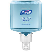 Purell® 5073-02 Healthy Soap Foodservice ES4 1200 mL Fragrance Free Foam Hand Sanitizer - 2/Case
