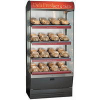 Alto-Shaam HSM-36/4S 36 inch Reach-In Heated Display Case with 4 Shelves - 208/240V