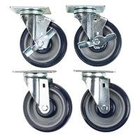 Alto-Shaam 5013871 6 inch Plate Casters for ASC-2E   - 4/Set