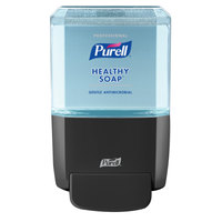 Purell 5079-1G Healthy Soap® ES4 1200 mL Black Manual Hand Soap Dispenser with Professional 1200 mL Refill