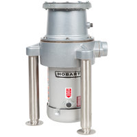 Hobart FD4/300-1 Commercial Garbage Disposer with Adjustable Flanged Feet - 3 hp, 208-230/460V
