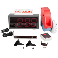 Digi-Q PL-QS4003R Wireless Take A Number Ticket Dispenser System