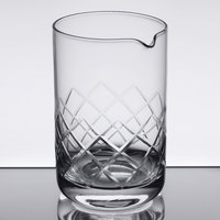 American Metalcraft MGD20 20 oz. Diamond Cut Cocktail Stirring / Mixing Glass