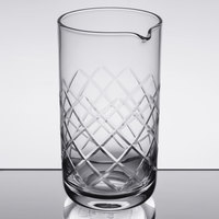 American Metalcraft MGD25 25 oz. Diamond Cut Mixing Glass