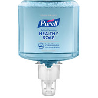 Purell® 5084-02 CRT Healthy Soap™ Clean Release Foodservice ES4 1200 mL Active Cleansing Fragrance Free Foam Hand Soap - 2/Case