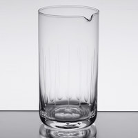 American Metalcraft MGL25 25 oz. Hand Cut Mixing Glass