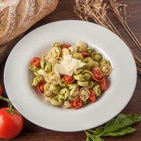 Carlisle 4303002 Durus 20 oz. White Melamine Pasta Bowl - 12/Case