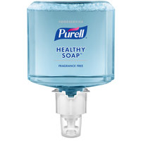 Purell® 6473-02 Healthy Soap® Foodservice ES6 1200 mL Fragrance Free Foaming Hand Soap - 2/Case