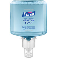 Purell® 6484-02 CRT Healthy Soap® Foodservice ES6 1200 mL Active Cleansing Fragrance Free Foaming Hand Soap - 2/Case