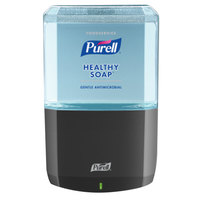 Purell® 6480-1G Healthy Soap® Foodservice ES6 1200 mL Graphite Automatic Hand Soap Dispenser with Antimicrobial Foaming Hand Soap