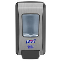 Purell® 5234-06 Healthy Soap® FMX-20™ 2000 mL Graphite Manual Hand Soap Dispenser - 6/Case