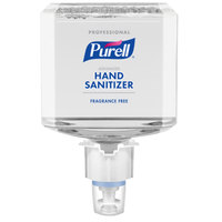 Purell® 6452-02 Advanced Professional ES6 1200 mL Fragrance Free Foaming Hand Sanitizer - 2/Case