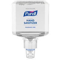 Purell® 6451-02 Advanced Healthcare ES6 1200 mL Gentle & Free Foaming Hand Sanitizer - 2/Case