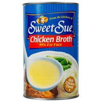 Sweet Sue 49.5 oz. Chicken Broth - 12/Case
