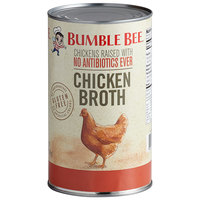 Bumble Bee 49.5 oz. Chicken Broth   - 12/Case