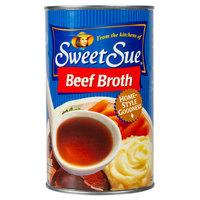 Sweet Sue 49.5 oz. Beef Broth - 12/Case