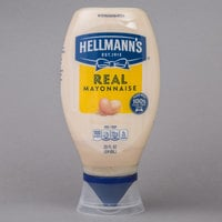 Hellmann's Real Mayonnaise 20 oz. Upside Down Squeeze Bottle   - 12/Case