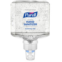 Purell® 7760-02 Advanced Professional ES8 1200 mL Fragrance Free Hand Sanitizer Gel - 2/Case
