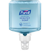 Purell® 7770-02 Healthy Soap® Professional ES8 1200 mL Naturally Clean Fragrance Free Foaming Hand Soap - 2/Case