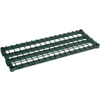 Metro 1830DRK3 30 inch x 18 inch Metroseal 3 Heavy Duty Dunnage Shelf with Wire Mat - 1600 lb. Capacity