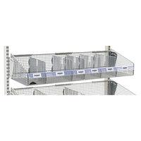 Metro QB48LHC 48 inch x 1 1/4 inch Clear Label Holder